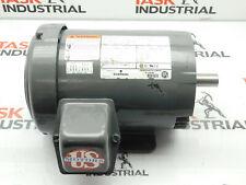 Emerson U1E2DC AF42 AC Motor 143TC 3PH HP:1 RPM:1740 208-230/460 VAC