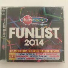 Fun radio Funlist 2014 2 cd neuf sous blister
