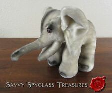 Vintage Kamar Japan Stuffed Elephant Plush Toy