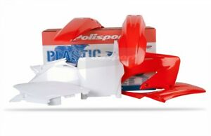 Polisport Plastic Kit Set CR Red HONDA CR125R CR250R 2004-2007 90082
