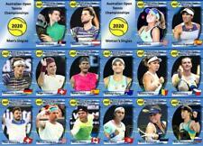 Australian Open 2020 Tennis Trading Cards Djokovic Thiem Kenin Murguruza