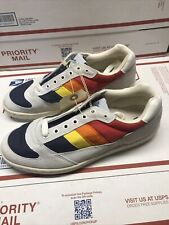 Vintage Timberland High Performance World Class Sailor Rainbow Shoes Very Rare!