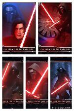 Topps Star Wars Digital Card Trader White 5 Card I'll Show You The Dark Side Set