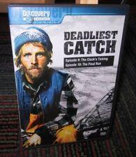 DEADLIEST CATCH: SEASON 1 - EPISODE 9 & 10 DVD, DISCOVERY CHANNEL,CLOCK'S TICKNG