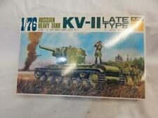 FUJIMI RUSSIAN HEAVY TANK KV-ll LATE TYPE KIT SEALED CONTENTS MIB 1:76
