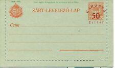 Hungary Baranya 1919 entier postal stationery overprint Mint unused
