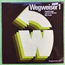 Wegweiser 1 - Second Stage Course In German BBC Radio, Programmes 1-10 Ex+ OP218