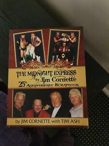 SIGNED Midnight Express & Jim Cornette 25th Anniversary Scrapbook RARE