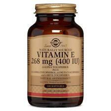 Solgar Vitamin E 400 IU 100 Softgels FREE Shipping Made in USA FRESH
