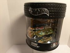 """Hot Wheel Collectors """" Snake Rocket Oil """" #4466/5000 - gold w/ white tampo"""
