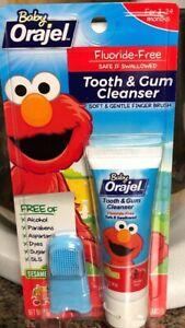 Elmo Baby Oragel Tooth And Gum Cleanser
