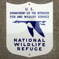 National Wildlife Refuge sign goose US Department of the Interior Fish USDI