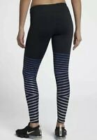 Nike Epic Lux Flash Women's Reflective Running Tights 856680-013 XS Black Violet