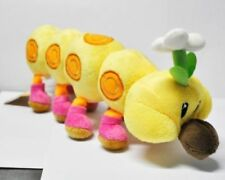 Nintendo Super Mario Brothers Wiggler Caterpillar 11inch Stuffed Toy Plush Doll
