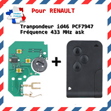 Tarjeta Virgen Transpondedor Compatible Renault Megane II Scenic II Clio 3