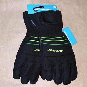 Ziener of Germany Groover Alpine Ski Aquashield Gloves 8.5/9/9.5/10/10.5 - NWT!