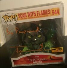 More details for scar with flames  (lion king)  -   funko pop  --  hand signed by jeremy irons