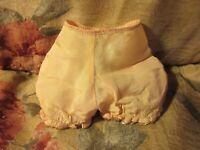 ~~1950's Madame Alexander Pink Taffeta Panties, Gold Trim, Hard Plastic Dolls~~
