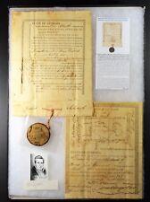 1823-Georgia(Emanuel County) Land Grant Creek Nation-Signed Governor John Clark