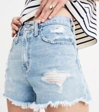NWT Madewell the perfect jean short in langdon wash Sz28 In Light Wash G5408