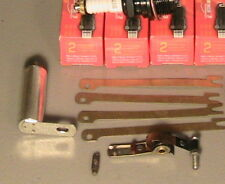 1928-1931 Model A Ford Deluxe Tune-up Kit w/Brass & Copper on the Spark Plugs