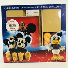 Classic Disney Crochet Kit Includes Donald and Mickey New (Open Box)