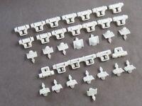 30 Teile Klammern Clips Beplankung für Mercedes Sacco 190 W201 W124 A124 S124