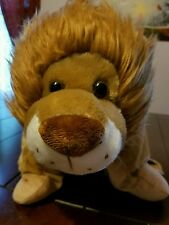 Snuggle Pads Pet Lion Plush All in One Activity Tray Table Cup Holder  Pillow