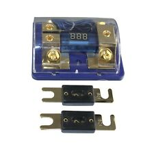 60A Dual Digital Golden Anl Dist Block 0-4 Ga Free 2Pcs Fuse Holder 060-60A