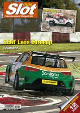 Magazine Mas Slot revista coleccionismo Diciembre 2015 nº162 Seat Leon Eurocup
