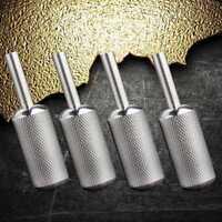 16mm Stainless steel Griff Grips Rotary Tattoo Maschine Motor Gun Tube Zubehör w