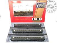 ACME 55226 Treno rapido FS set di tre carrozze UIC-X grigio ardeisia