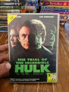 The Trial Of The Incredible Hulk DVD