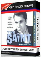 Vincent Price The Saint starring  88 Old Time Radio Episodes IMMEDIATE DOWNLOAD