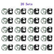 20 Set Carb Diaphragm Gasket Kit For Briggs & Stratton 495770 795083 5083H 5083K