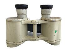 RARE Vintage WWII German 6x30 Dienstglas Tan 6x30 Binoculars Swarovski CAG