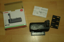 Canon BG-E2 Battery Grip for Canon EOS 30D 20D with 6X AA battery Tray/  Boxed
