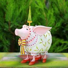 Patience Brewster Nanette Dressed Up Pig Ornament