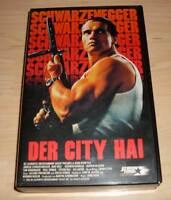 VHS - Der City Hai - Raw Deal - Arnold Schwarzenegger - 80er 80s - Videokassette