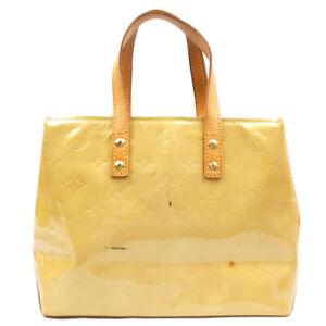 LOUIS VUITTON Reed PM Enamel Vernis Handbag M91144 M91144