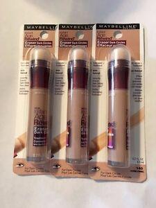 Maybelline Instant Age Rewind Eraser Dark Circles CONCEALER ,140 Honey ( 3-pack)