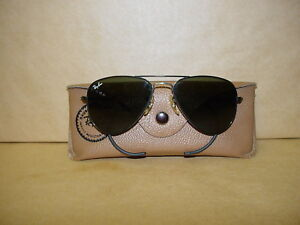 VINTAGE RAYBAN JUNIOR SUNGLASSES FOR MEN'S LENS AND ORIGINAL CASE GREAT