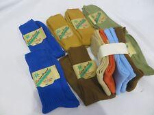 Vintage Boys Socks Lot dead Stock in Box sz 4 Nylon