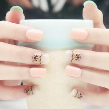 ViVi Nails 24pcs Cute Animals False Nails Short nail care Full Tips w/ nail glue
