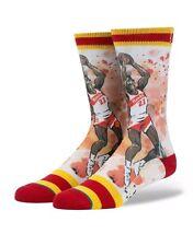 """STANCE """"NIQUE"""" SOCKS (DOMINIQUE WILKINS) (L) SIZES 9-12 NBA LEGEND"""