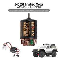 RC Brushed Motor 540 45T Brushed Motor ESC for 1/10 Hsp  Rc4wd Tamiya