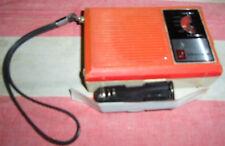 Radio Grundig Micro boy 60 vintage retro arancione