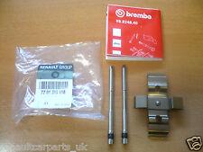 Genuine Renault Megane 225 Sport Brembo Caliper Pin Kit 7701208118