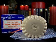 Nag Champa Satya Sai Baba Soap, One 150g Bar, BDY4
