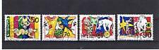 4 Francobolli Svizzera 1992 usati